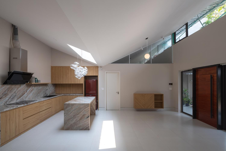 bố trí phòng bếp của nhà cấp 4