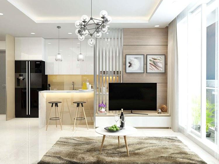 Báo giá thiết kế thi công nội thất chung cư 70m2