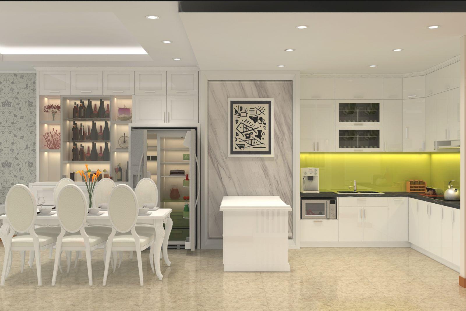 Nội thất phòng bếp đẹp hiện đại