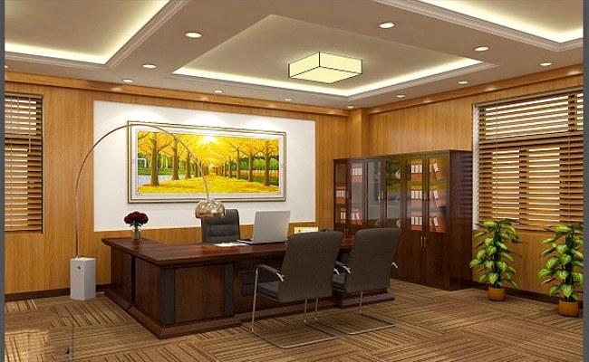 Thiết kế văn phòng giám đốc
