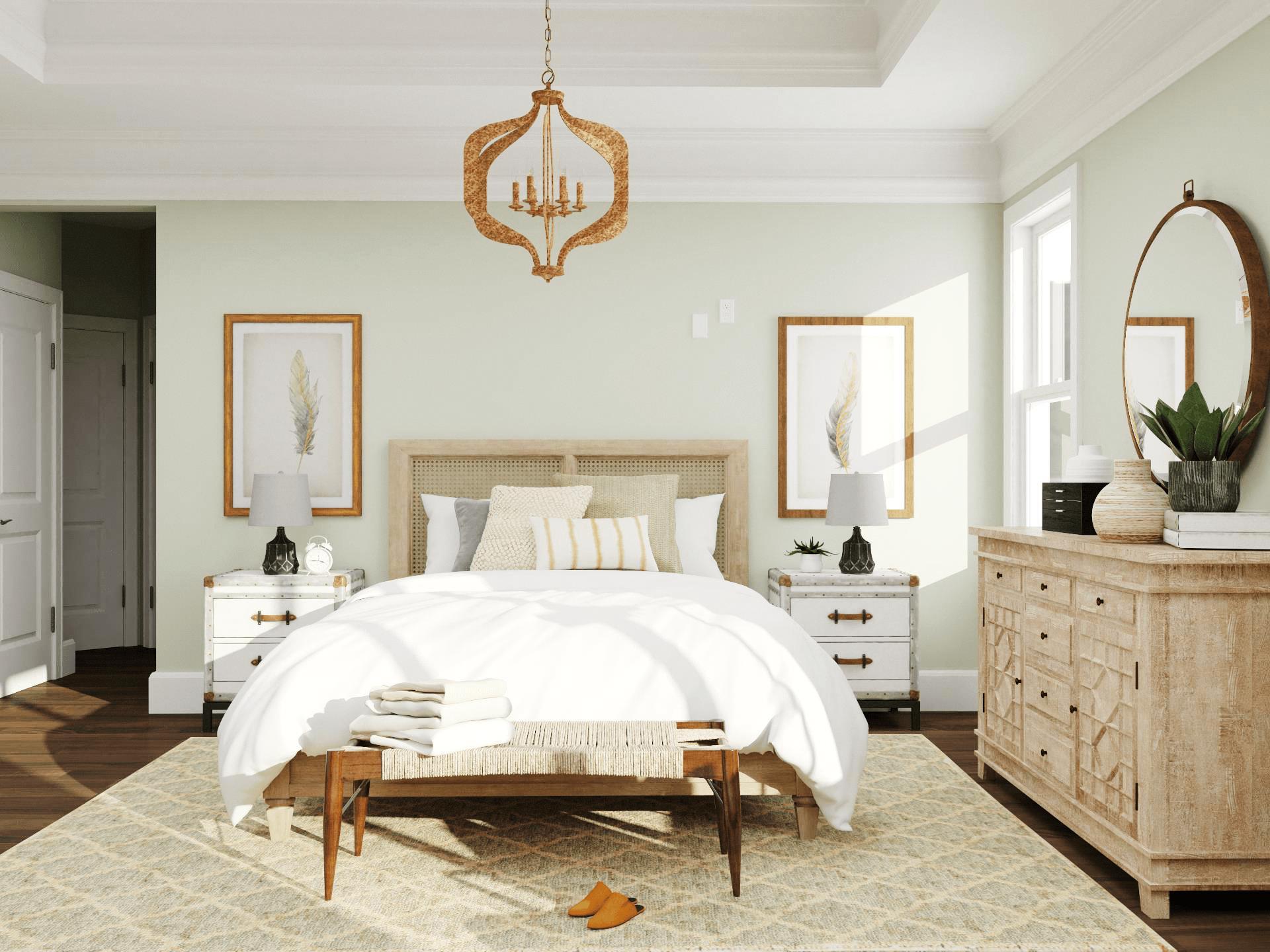 Nội thất phòng ngủ phong cách châu Âu