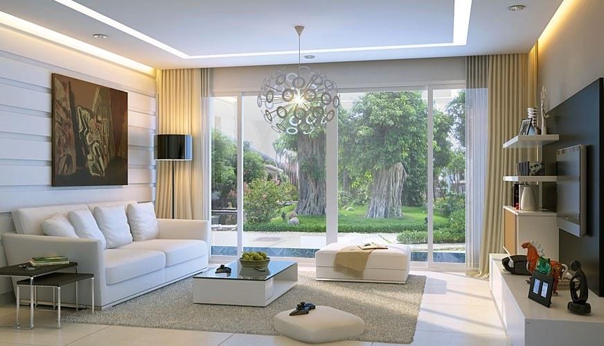 Thiết kế nội thất biệt thự hiện đại cho không gian nhà bạn