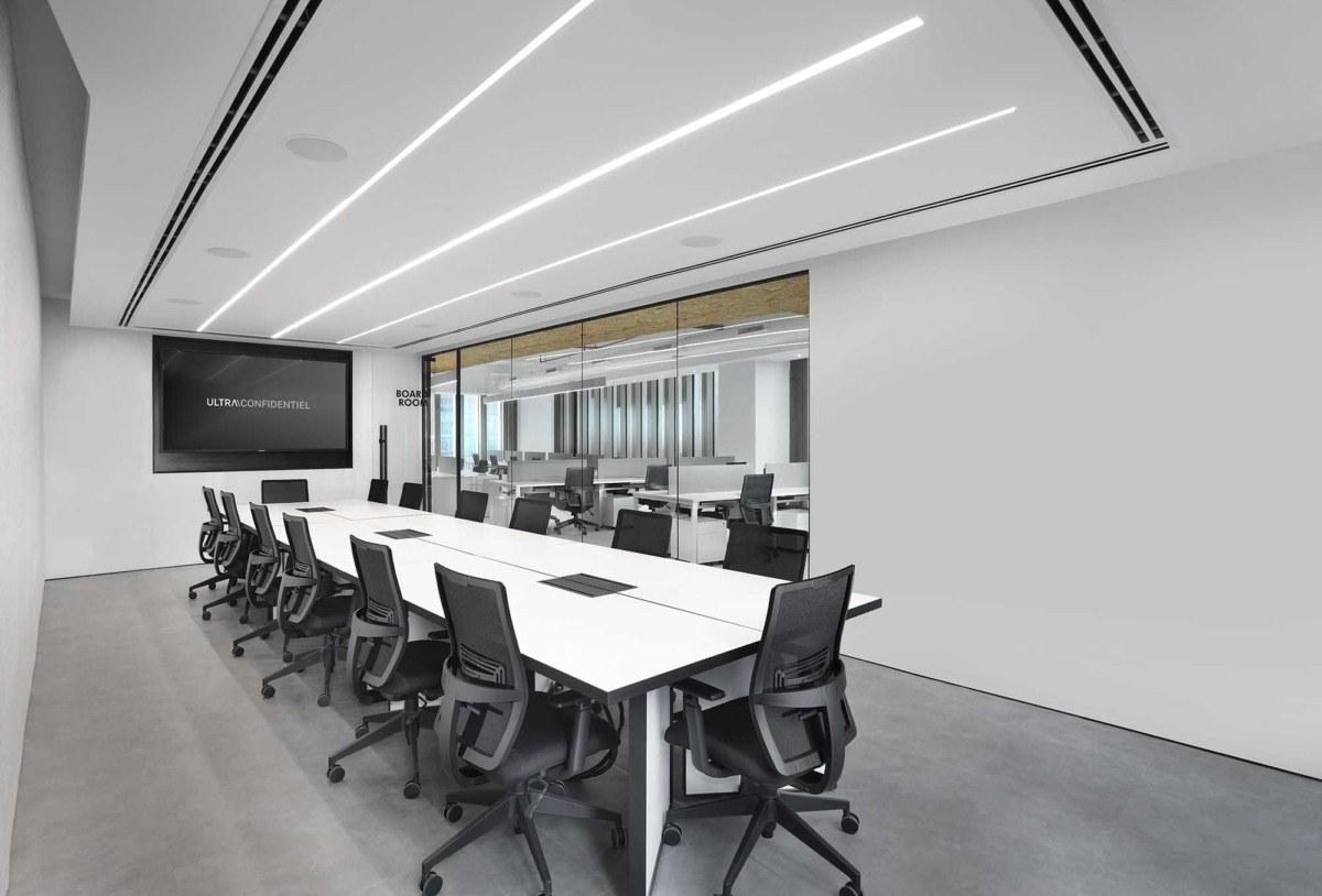 Thiết kế nội thất văn phòng cao cấp
