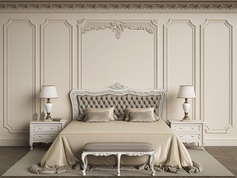 Mẫu phòng ngủ Tân cổ điển sang trọng