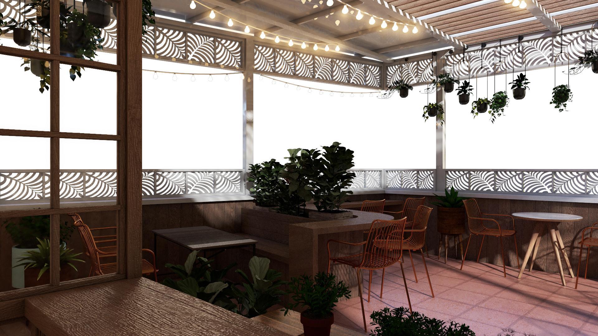 Mẫu thiết kế quán cà phê giá rẻ