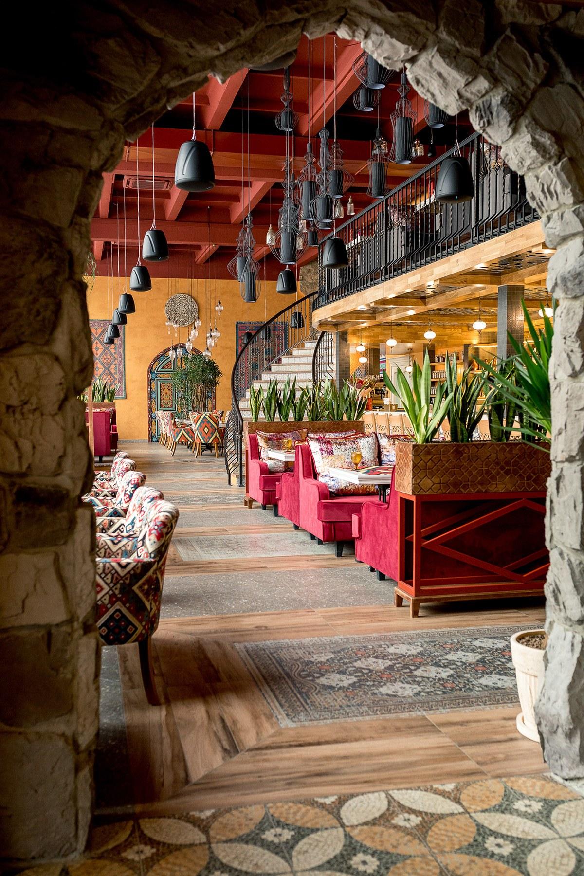 Mẫu thiết kế quán cafe phong cách Bohemian