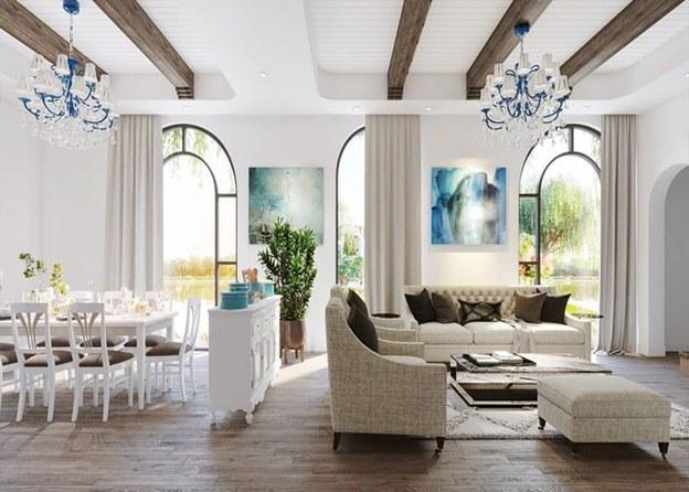Thiết kế nội thất biệt thự đơn lập đẹp và đẳng cấp
